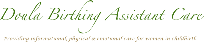 Doula Birthing Assistant Care